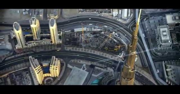 Two Guys With Jetpacks Fly Over Dubai