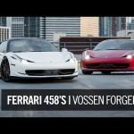 Vossen Forged Ferrari 458s