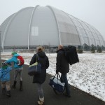 Airplan Hangar Hiding Something Inside, Germany