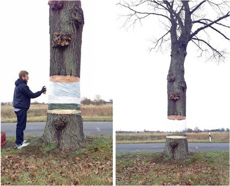 Art – Illusion tree