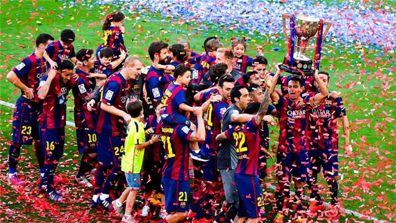 FC Barcelona win fifth Champions League