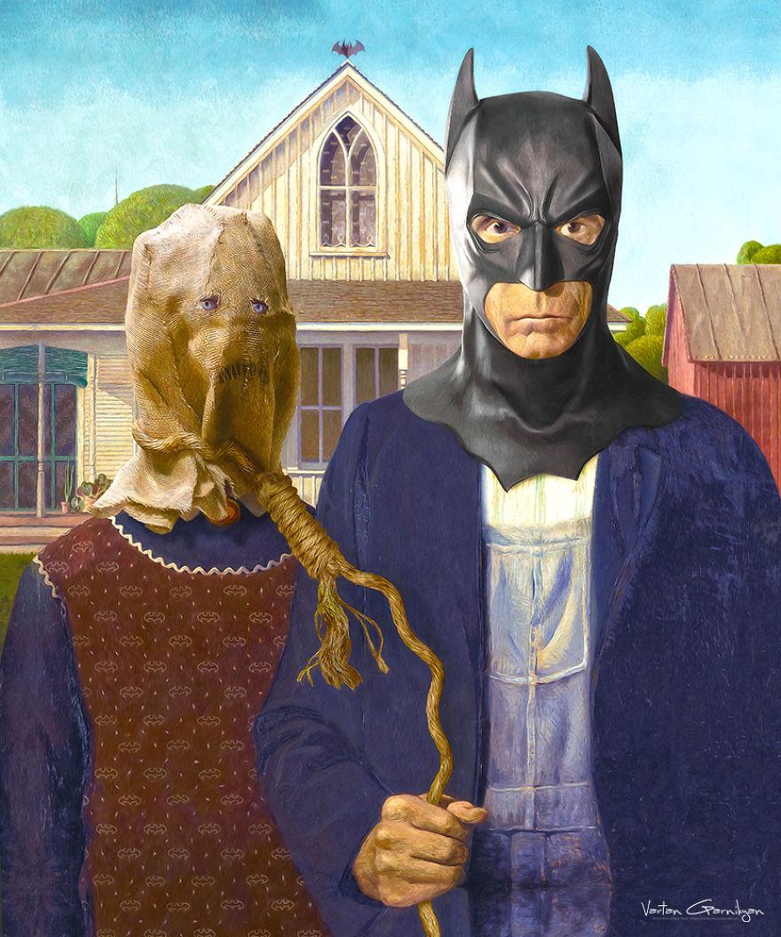 Paintings For Batman Fans3