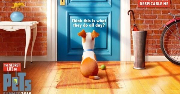 The Secret Life Of Pets – Official Trailer