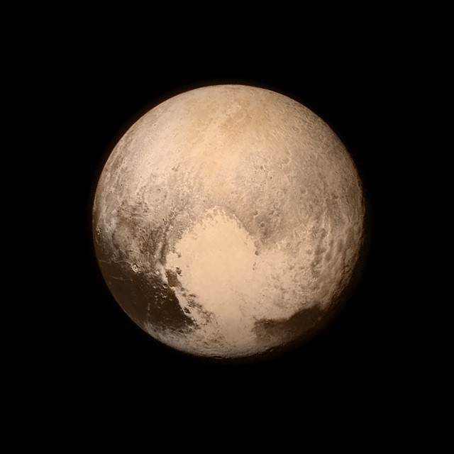 The Clearest Photo Of Pluto, After 9 Years And 3 Billion Miles