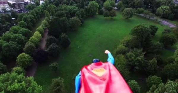 Supermen + Dron