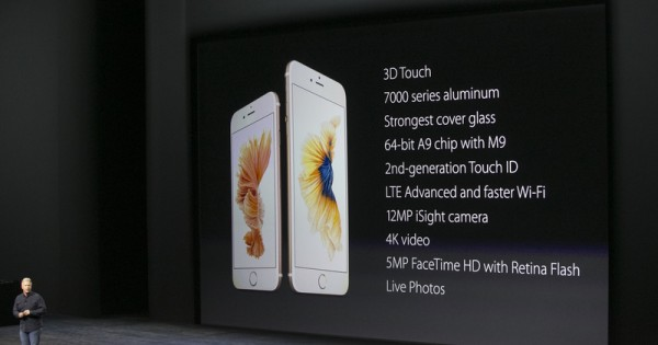 Apple Unveils The iPhone 6S (Plus Rose Gold Color), iOS 9 Will Available On Sept. 16