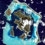 Bora Bora From Space