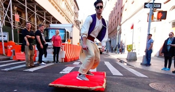 Aladdin In Real Life, NYC