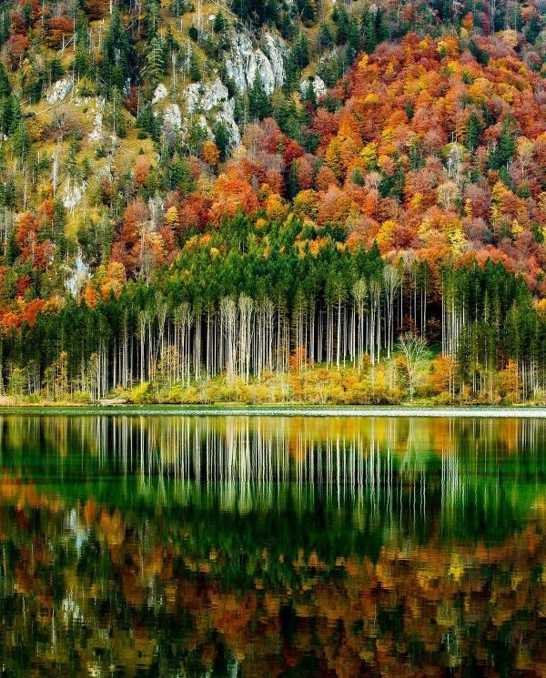 Autumn in the Austrian Alps