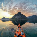 Stunning Images Snapped From Kayak. Norway