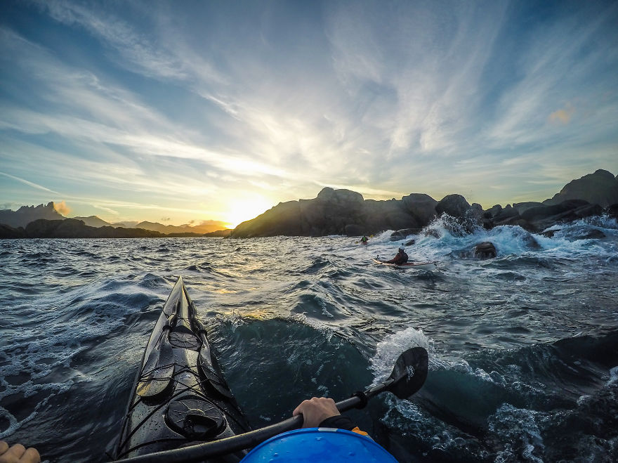 I Photograph The Fjords Of Norway From The Kayak Seat4