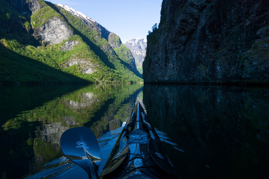 I Photograph The Fjords Of Norway From The Kayak Seat6