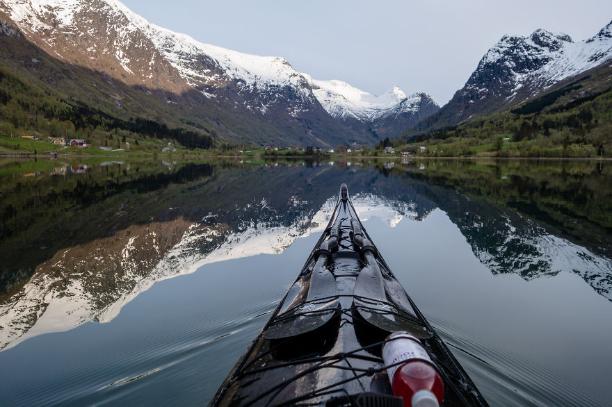 I Photograph The Fjords Of Norway From The Kayak Seat8