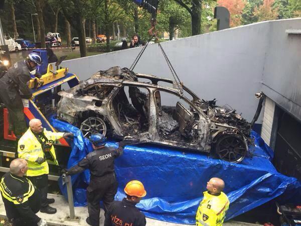 Jon Olsson's Old RS6 Avant DTM Stolen In Armed Robbery and burned