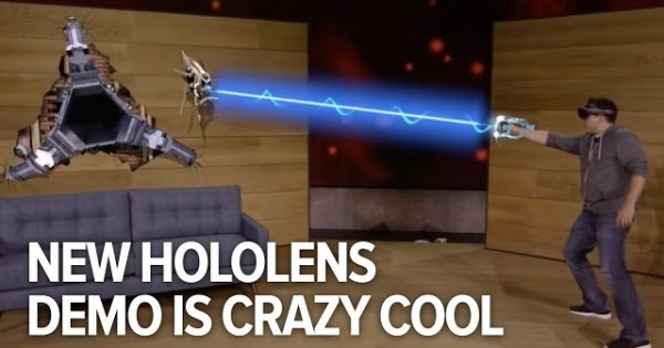 Microsoft Just Blew Us Away With A Demo Of HoloLens