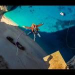 600 Foot Insane Rope Swing, Greece
