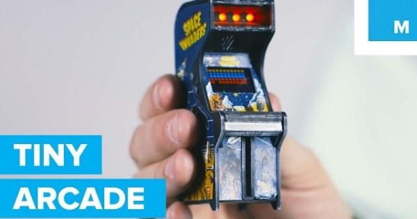 Awesome Mini Working Arcade Machine