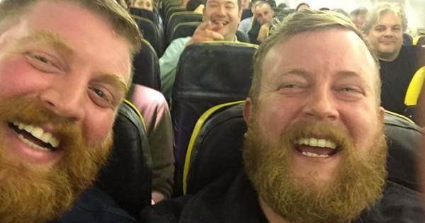 Passenger Seated On Plane Next To Stranger Who Looks Exactly Like Him
