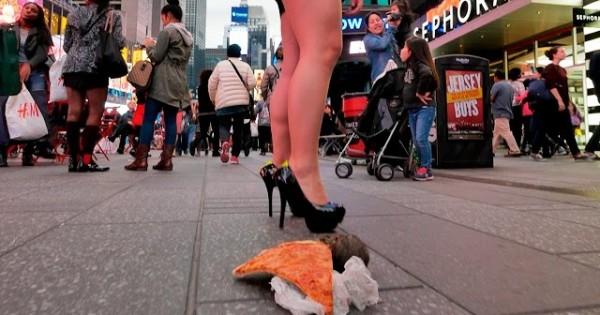 Pizza Rat Prank, NYC