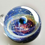 Space Glass: Planets And Galaxies Trapped In Tiny Glass Pendants (Pic+Video)