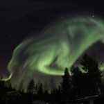 Amazing: A Giant Wolf Appeared In The Sky