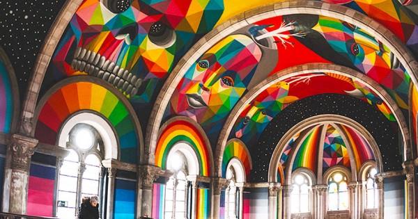 Amazing: Church Transformed Into A Graffiti Themed Skate Park