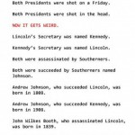 Some Really Mind-Blowing Coincidences