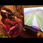 Father Of The Year: Bike Simulator For His Daughter!