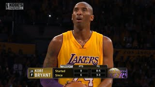 Kobe Bryant Final Game Of His Career (60 Points), Thank You For Everything #MambaOut